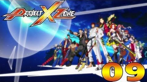 Project X Zone - English Walkthrough Part 9 Chapter 4 Arisu in Wonderland HD