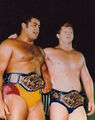 Bob Backlund and Pedro Morales