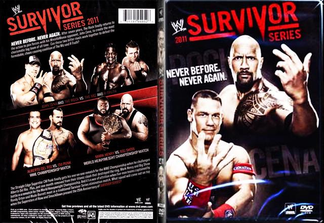 Image result for survivor series 2011 poster
