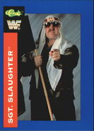 1991 WWF Classic Superstars Cards Sgt. Slaughter 142