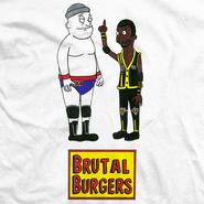 Cheeseburger Brutal Burgers Shirt