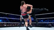 Smackdown 8-6-15 Reigns v Rusev 011