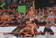 RAW 9-19-05 8 Man Tag Team