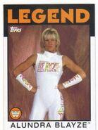 2016 WWE Heritage Wrestling Cards (Topps) Alundra Blayze 71