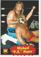 2012 WWE Heritage Trading Cards Michael Hayes 90
