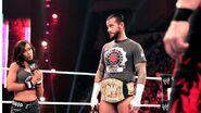 AJ Lee & CM Punk 1