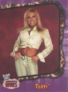 2002 WWE Absolute Divas (Fleer) Terri 2