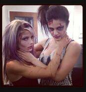 Alexa Bliss and Bayley 2013 NXT Halloween