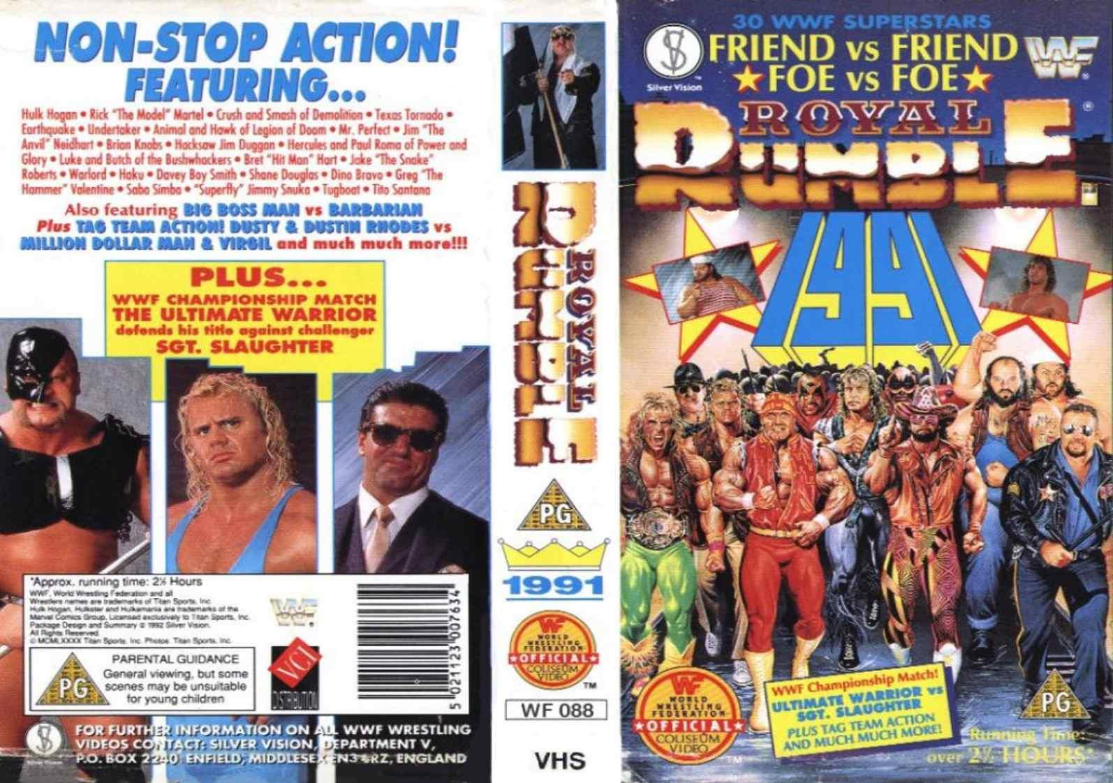 Image result for royal rumble 1991