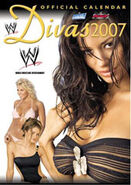 World Wrestling Divas Calendar 2007 WWE official calendar by Danilo