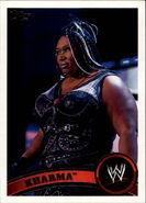 2011 WWE (Topps) Kharma 15