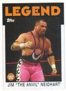 2016 WWE Heritage Wrestling Cards (Topps) Jim Neidhart 86