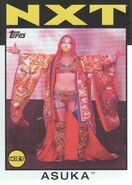 2016 WWE Heritage Wrestling Cards (Topps) Asuka 59