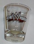 2003 WWF New York Shot Glass