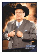 2009 WWE (Topps) Jim Ross 30