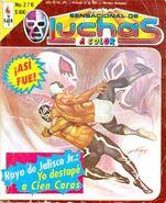Sensacional de Luchas 276