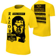 Razor Ramon Hall of Fame 2014 Authentic T-Shirt