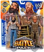 WWE Battle Packs 28 Luke Harper & Erick Rowan