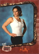 2002 WWE Absolute Divas (Fleer) Molly 9