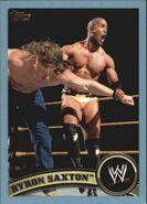 2011 WWE (Topps) Byron Saxton 86