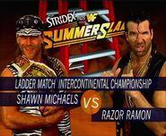 SS 95 Shawn Michaels v Razor Ramon