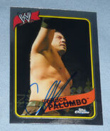 2008 WWE Heritage III Chrome Trading Cards Chuck Palumbo 15