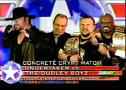 The Undertaker vs The Dudley Boyz