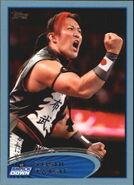 2012 WWE (Topps) Yoshi Tatsu 36