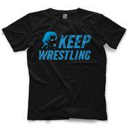 Brad Maddox Keep Wrestling T-Shirt