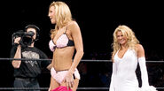 Stacy keibler at Wrestlemania 20
