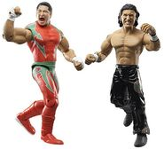 WWE Adrenaline Series 22 Super Crazy & Psicosis