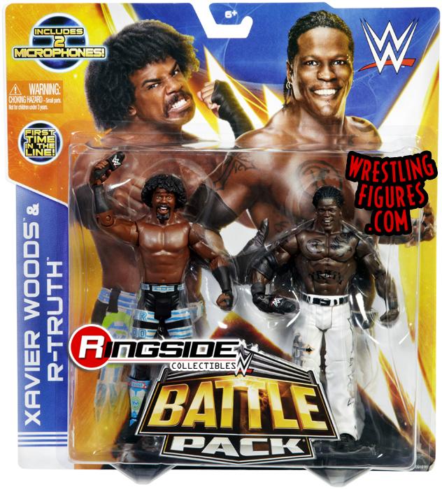 WWE Battle Packs 30 Xavier Woods & R-Truth