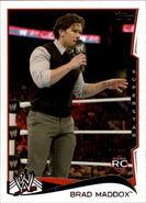 2014 WWE (Topps) Brad Maddox 5