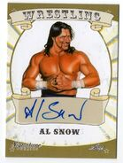 2016 Leaf Signature Series Wrestling Al Snow 4