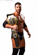 Roode Awesome Belt 2012 World Record TNA Champ