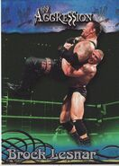2003 WWE Aggression Brock Lesnar 47
