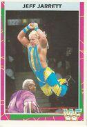 1995 WWF Wrestling Trading Cards (Merlin) Jeff Jarrett 166