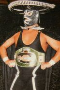 Rayo de Jalisco Jr. CMLL World Heavyweight