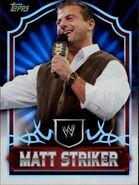 2011 Topps WWE Classic Wrestling Matt Striker 45