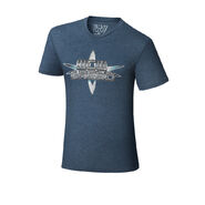 WCW Greed 2001 Old School Tri-Blend T-Shirt