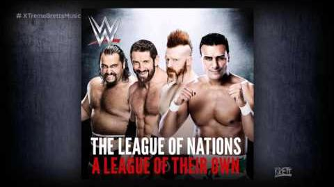 "WWE ""A League of Their Own"" iTunes Release by Jim Johnston ► League of Nations Theme Song"