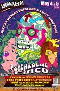 Lucha VaVoom Cinco De Mayo 2015 Poster 3