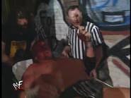 Royal Rumble 2000 HHH stretchered out 2