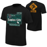 Brock Lesnar Suplex City Indianapolis Authentic T-Shirt