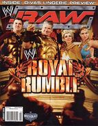 WWE Raw Magazine January 2006