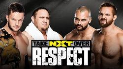 Takeover 7 Bálor and Samoa v Dawson and Wilder