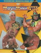 WrestleMania VIII Program