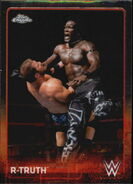 2015 Chrome WWE Wrestling Cards (Topps) R-Truth 53