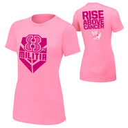 Kaitlyn Rise Above Cancer Pink Women's T-Shirt