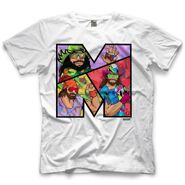 Randy Savage Macho Man M by 500 Level T-Shirt
